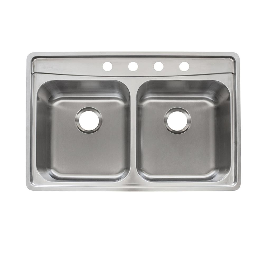 Moen 2200 Series Drop In Stainless Steel 33 4 Hole Double Basin The Wiring Above Can Be Used For Time Switches As Elkay Energy Evolution Fast Mount 335 50