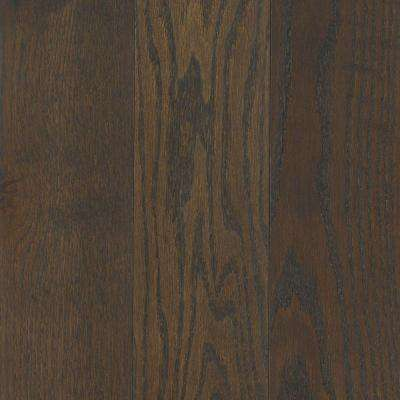 Take Home Sample - Arlington Wrought Iron Oak Solid Hardwood Flooring - 5 in. x 7 in.