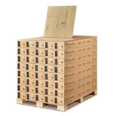 French Oak Mavericks 3/8 in. T x 6-1/2 in. W x Varying L Click Lock Engineered Hardwood Flooring (945.6 sq. ft. /pallet)