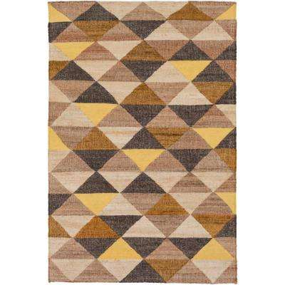 Oakley Bright Yellow 8 ft. x 10 ft. Area Rug