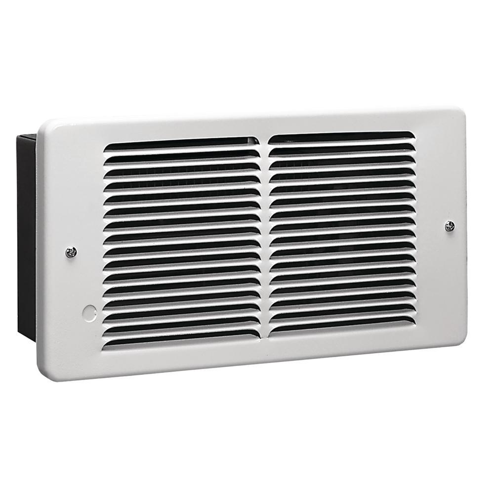 King Electric 120-Volt 1500-Watt Pic-A-Watt Electric Wall Heater in White