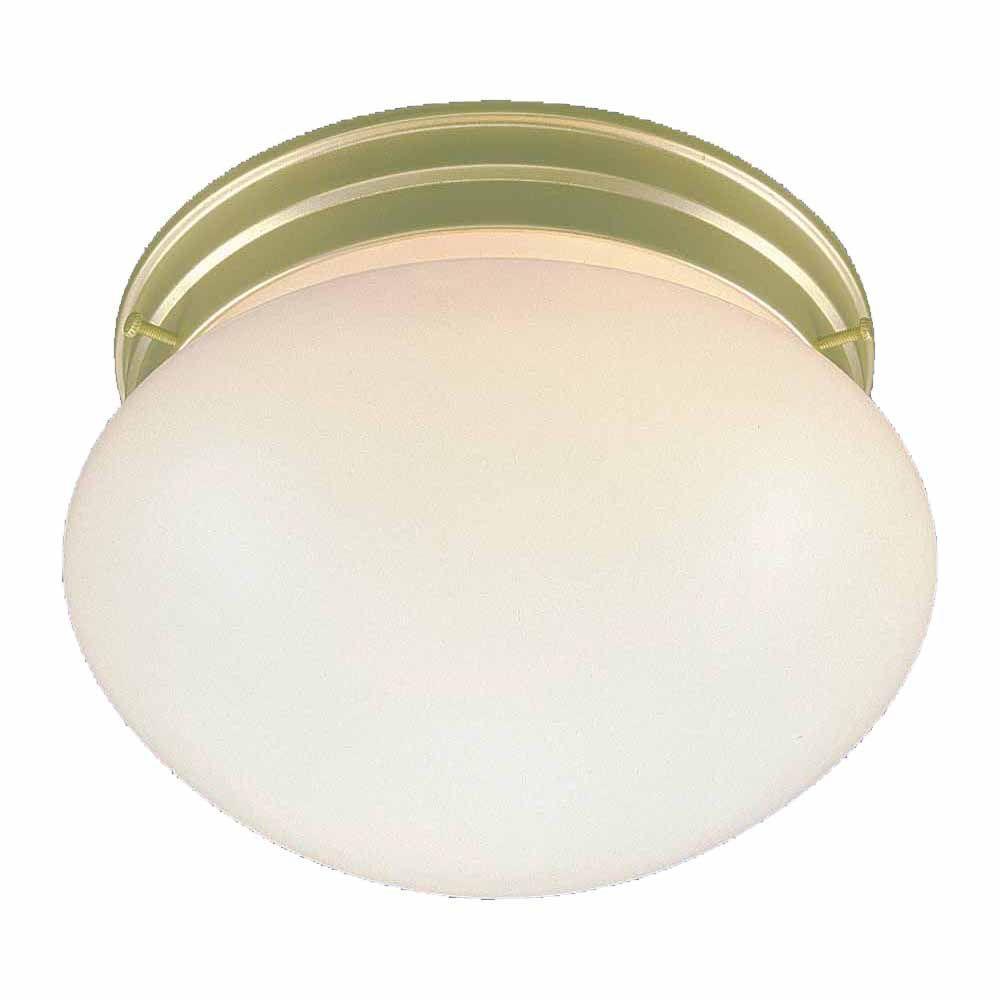 Filament Design Lenor 2-Light Polished Brass Incandescent Ceiling Flushmount