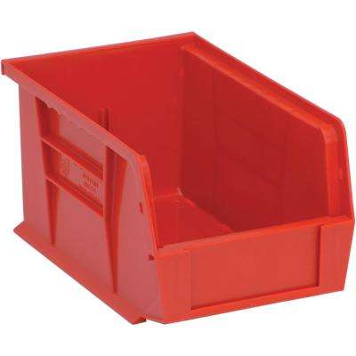 Ultra Series Stack and Hang 2.4 Gal. Storage Bin in Red (12-Pack)