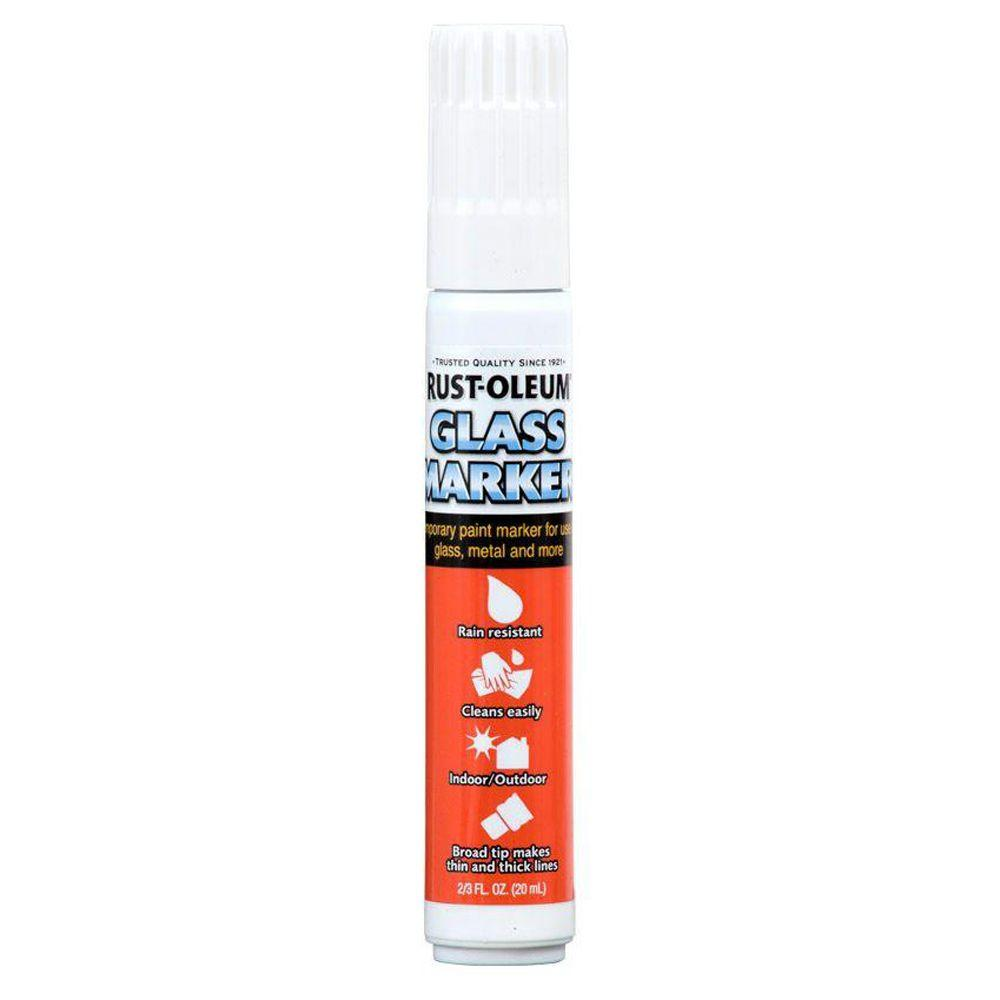 Rust-Oleum Automotive White Glass Marker (4-Pack)