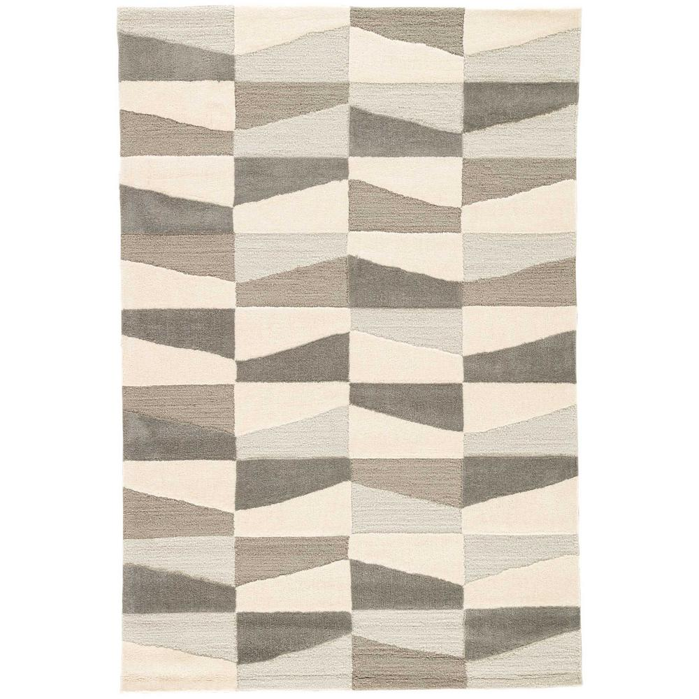 Silver Lining 9 ft. x 12 ft. Geometric Area Rug