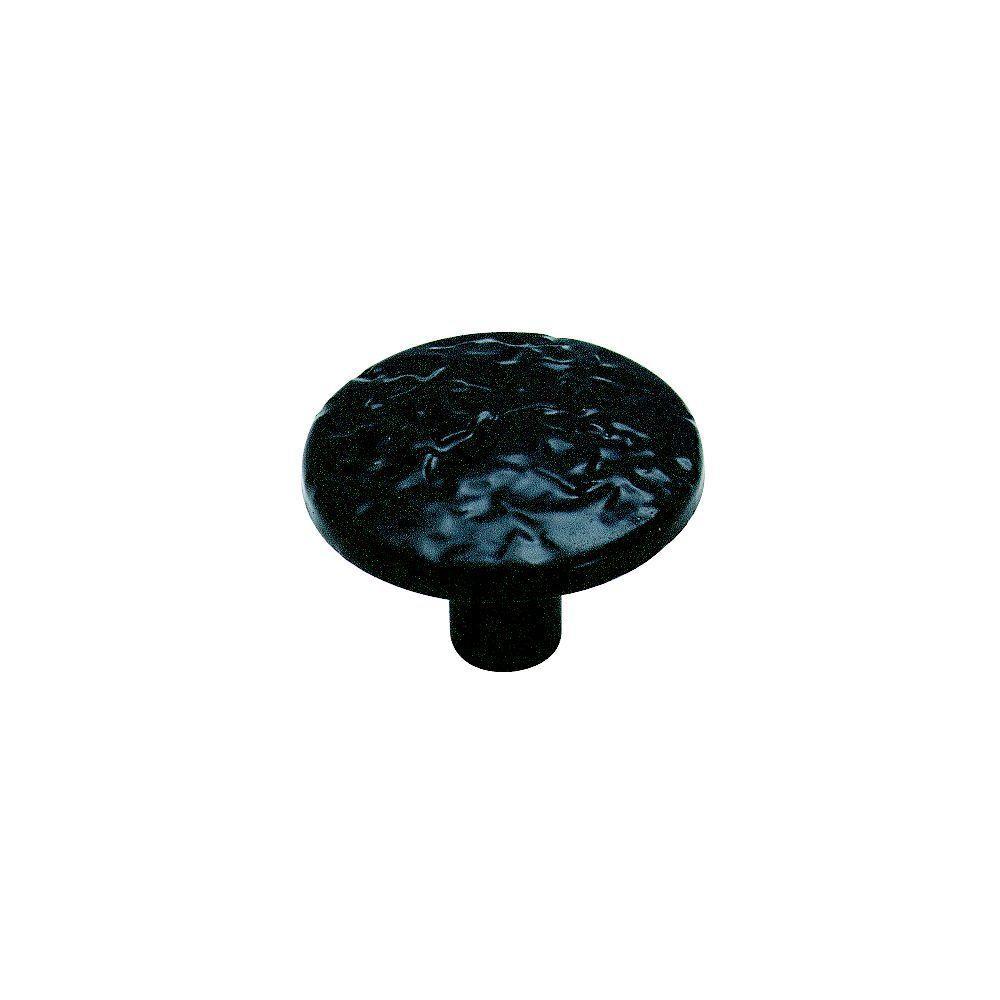 Allison Value 1-1/4 in (32 mm) Diameter Colonial Black Cabinet Knob