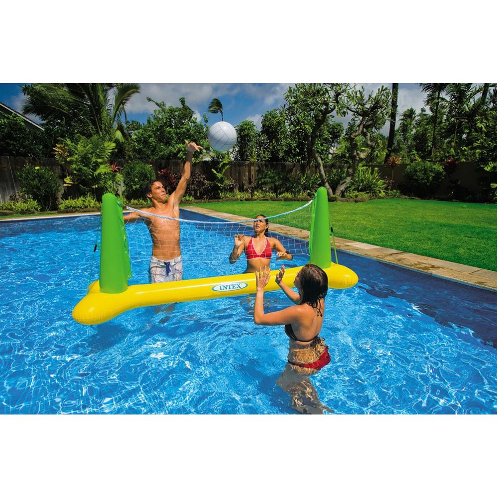 Intex inflatable pool volleyball game 56508ep the home depot for Hagebau intex pool