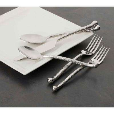 Utica Cutlery Company Nouveaux Hammered 20 Pc Set