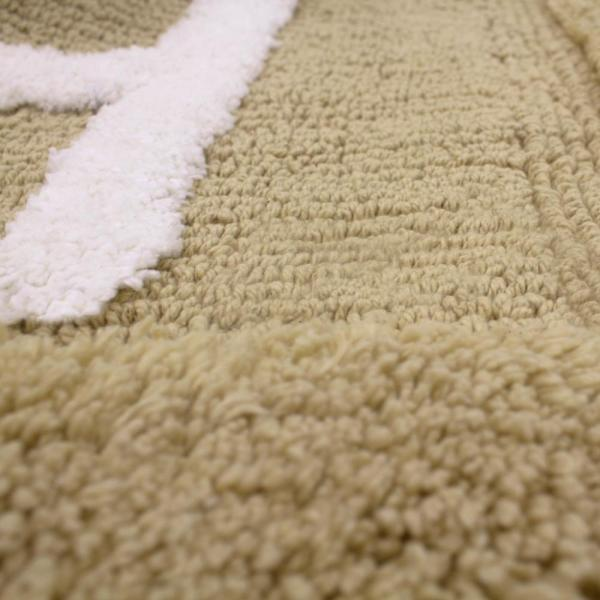 Jean Pierre - Cotton BATH 21 in. x 34 in. Linen Rug