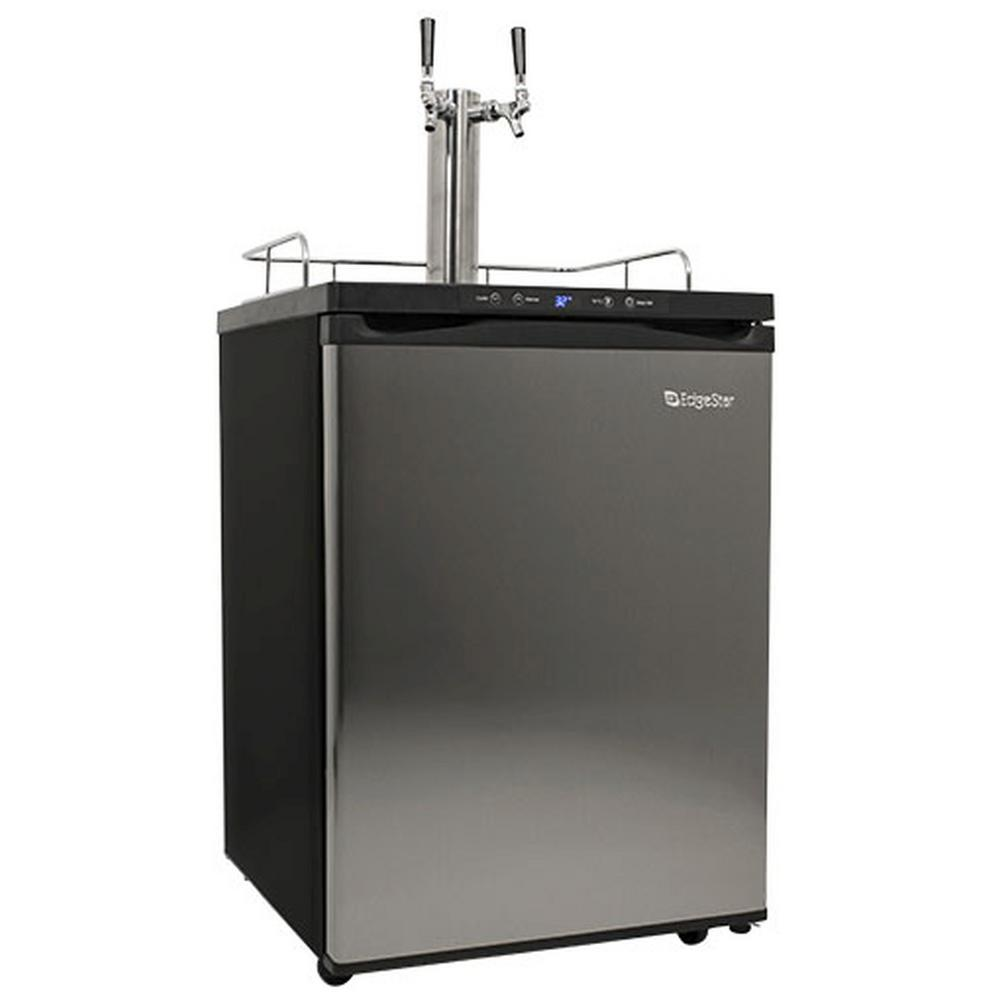 Double Tap 24 in. Full Size Beer Keg Dispenser with Digital