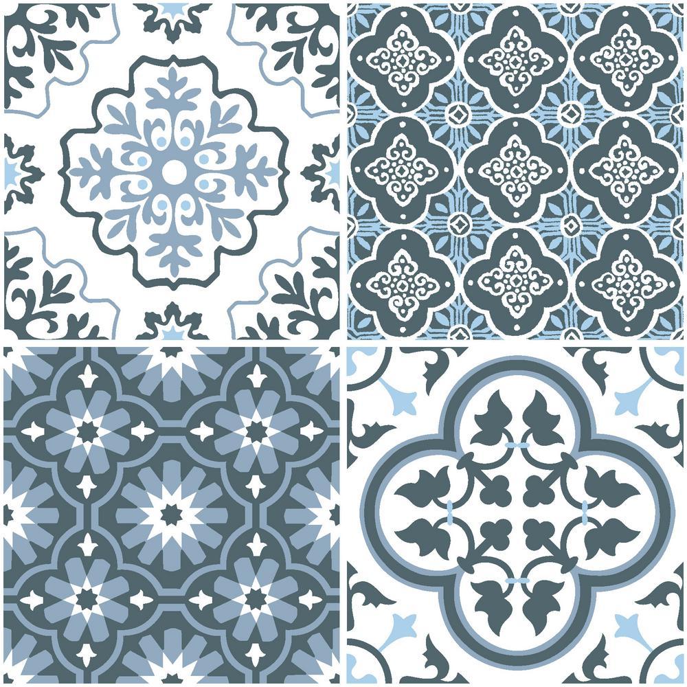 Myriad Peel and Stick Floor Tiles 12 in. x 12 in. (20 Tiles, 20 sq. ft.)