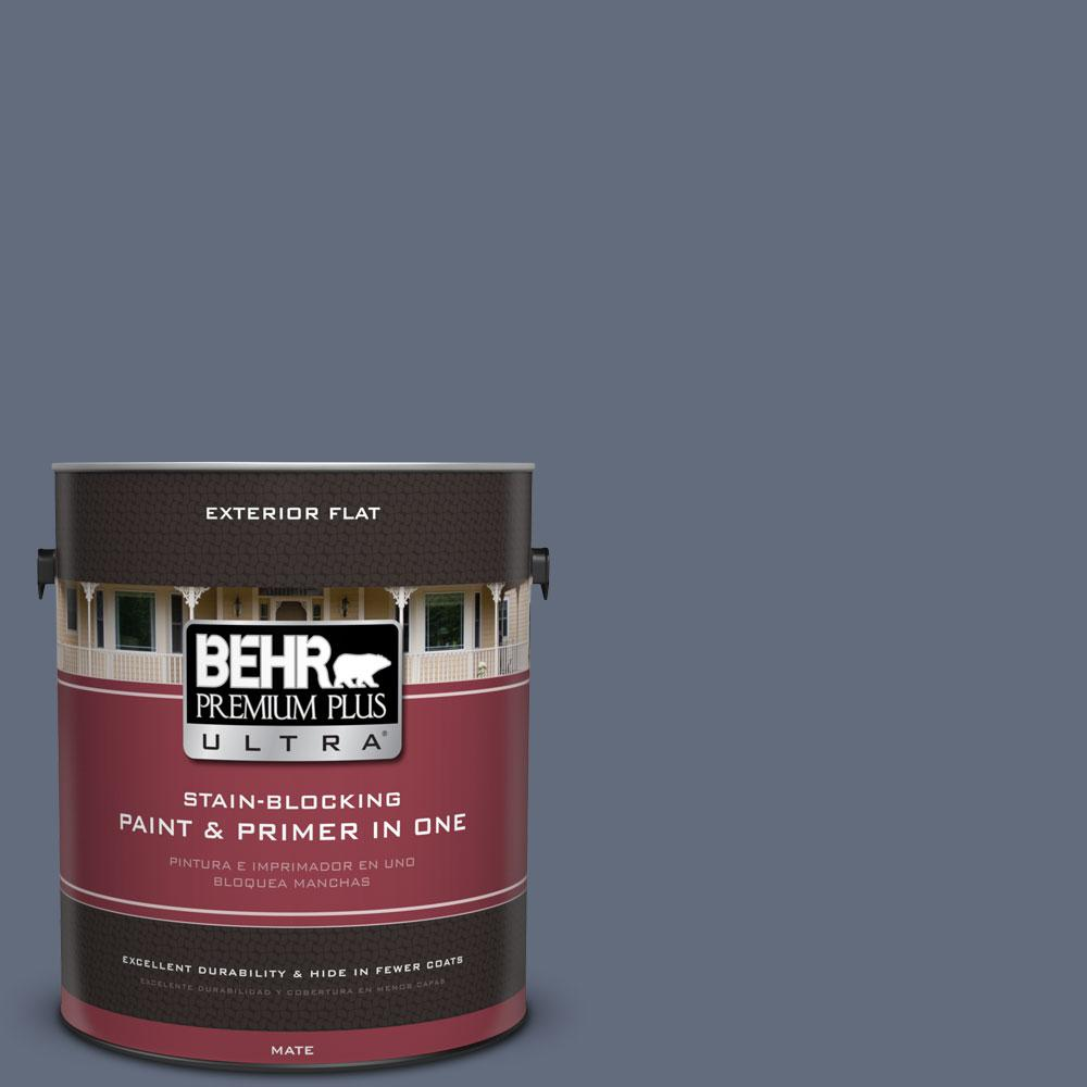 1-gal. #BNC-29 Dark Room Flat Exterior Paint
