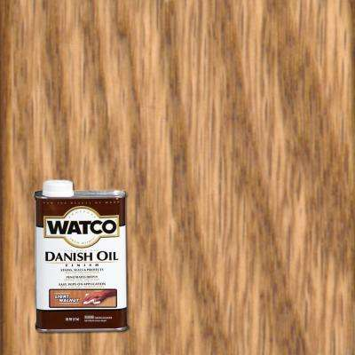 1 pt. Light Walnut Danish Oil (6-Pack)