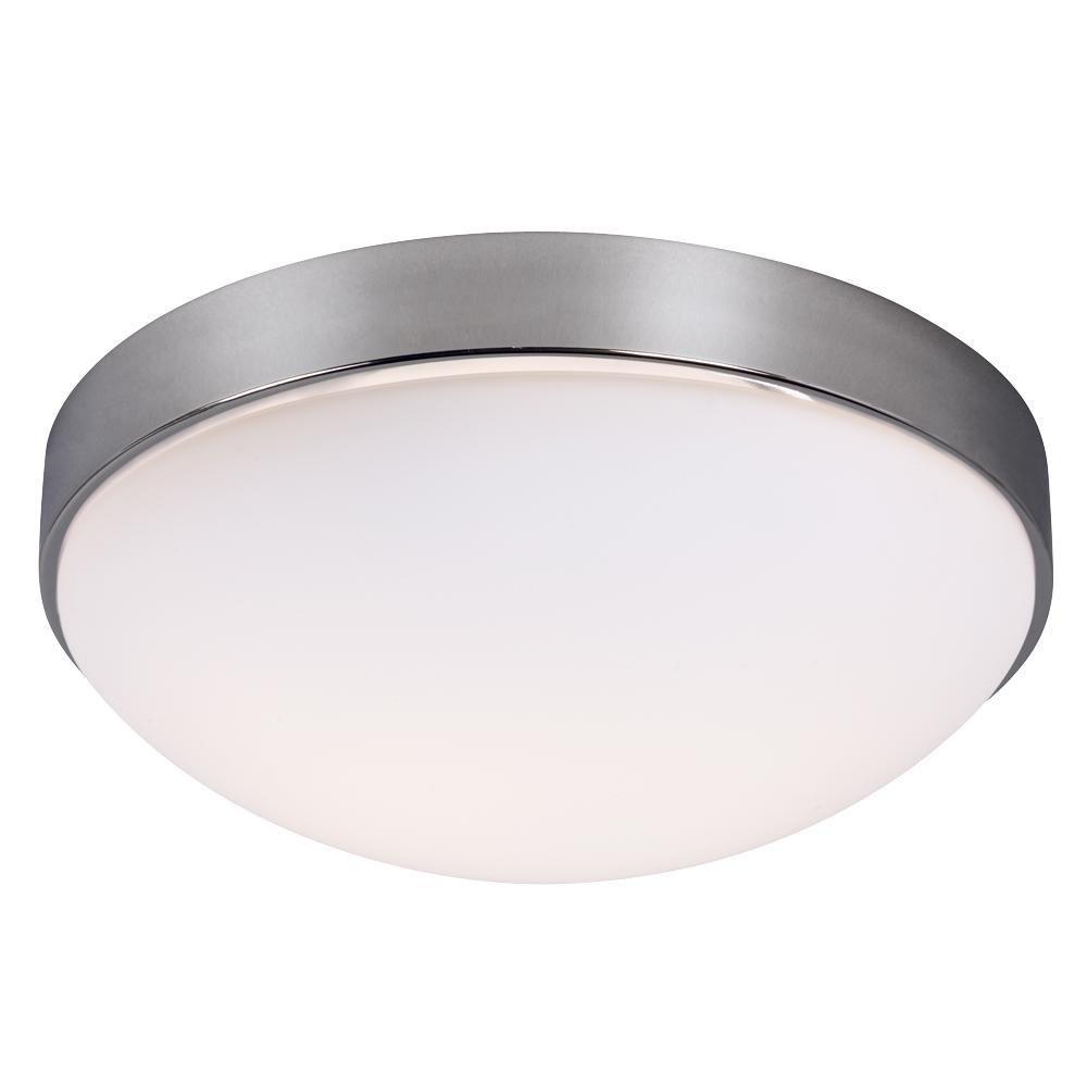 Filament Design Negron 2-Light Chrome Incandescent Flushmount