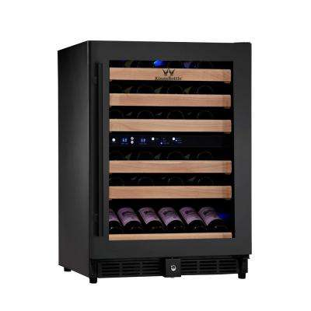 Dual Zone 23.42 in. 46-Bottle Wine Cooler