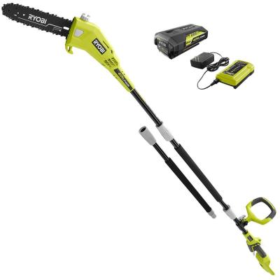 10 in. 40-Volt Lithium-Ion Cordless Battery Pole Saw 2.0 Ah Battery and Charger Included