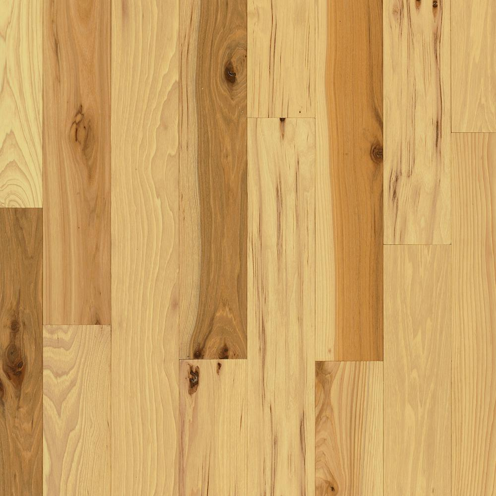 Bruce Plano Natural Hickory 3/4 in. Thick x 5 in. Wide x Random Length Solid Hardwood Flooring (23.5 sq. ft. / case)