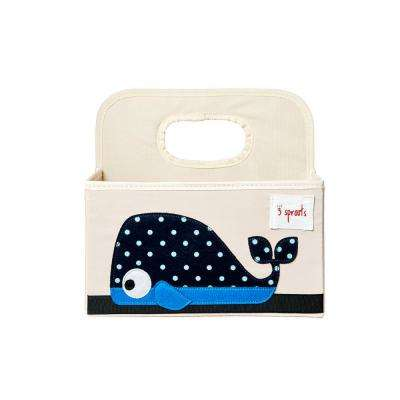 Diaper Caddy - Whale