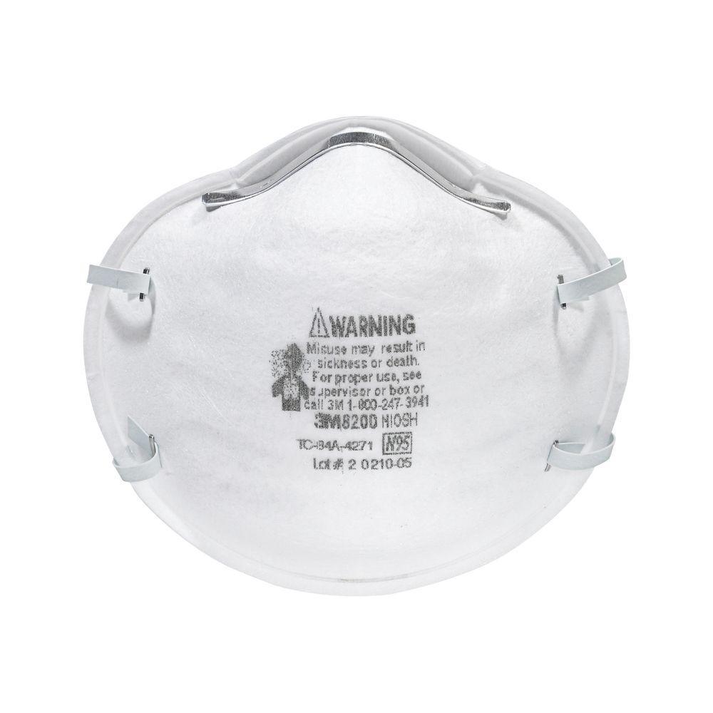 Full-Face Sanding and Fiberglass Respirators (3-Pack) (Case of 12)
