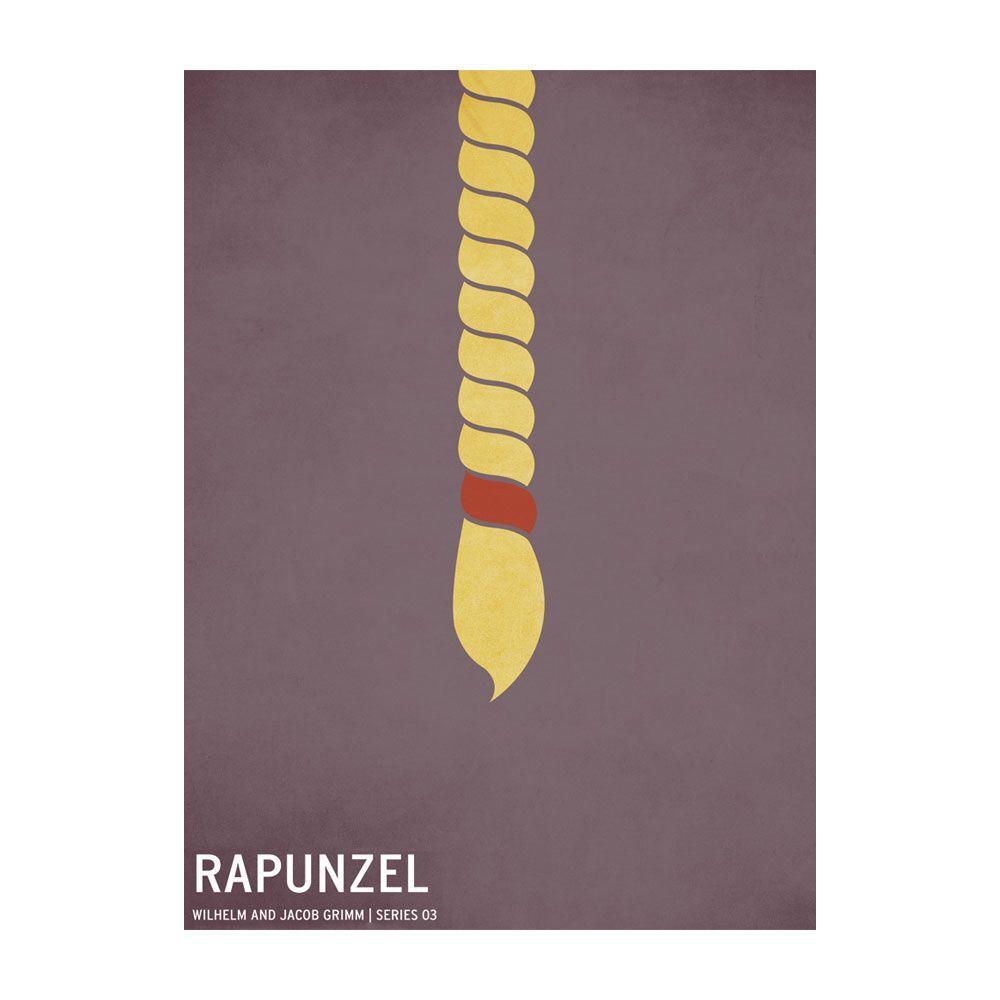 22 in. x 32 in. Rapunzel Canvas Art