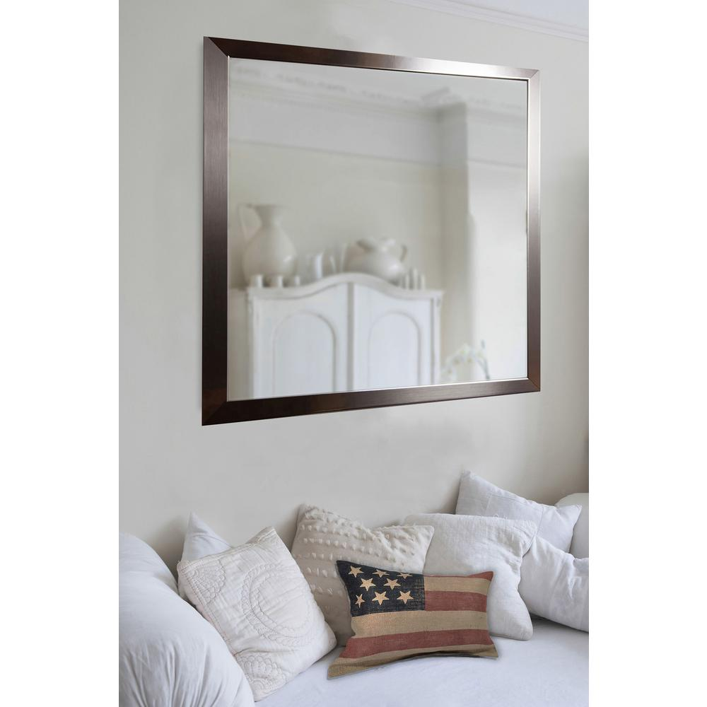 10 in. x 28 in. Silver Petite Mirror (Set of 3-Panels)-P02/6-24 s3 ...