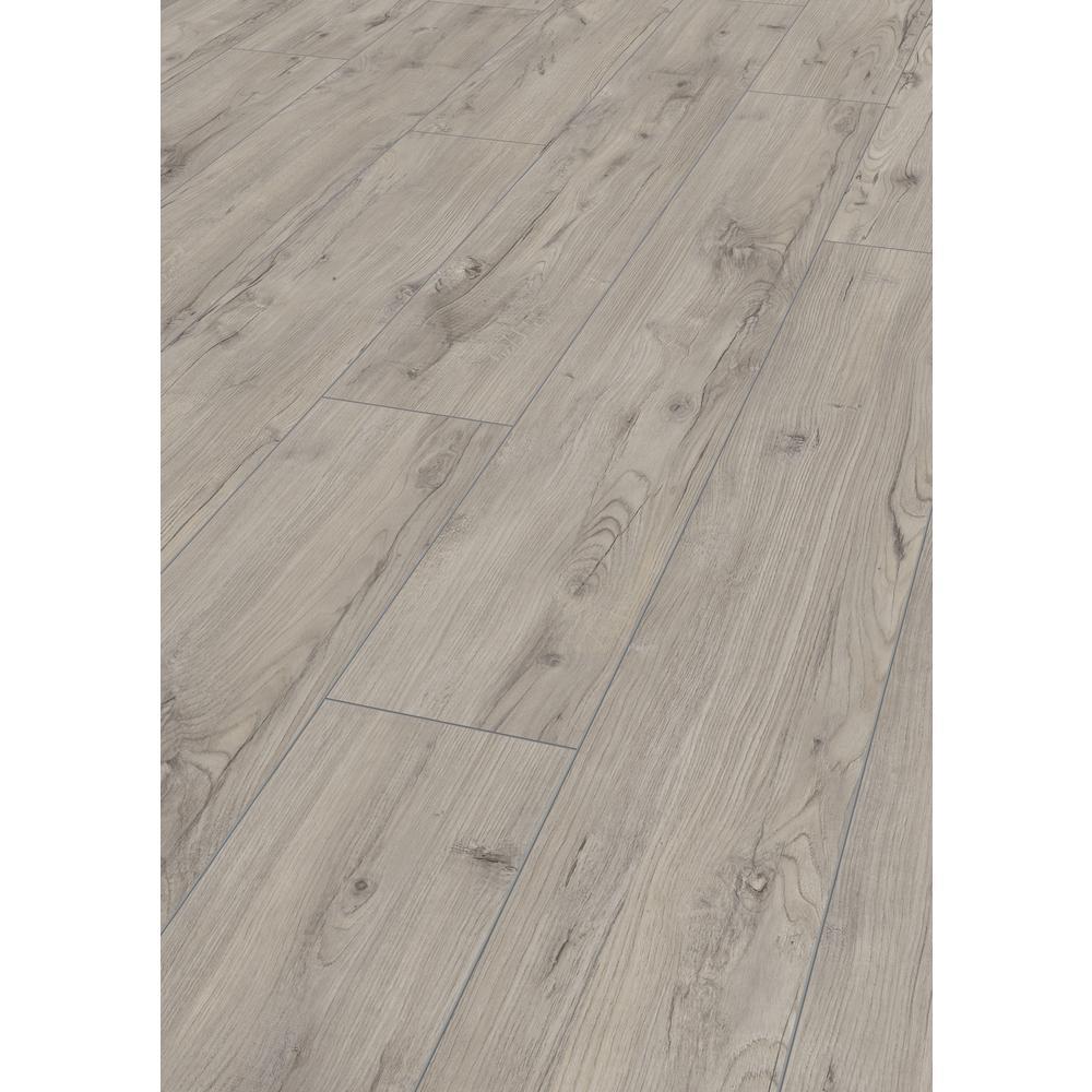 Take Home Sample -EIR Dawfield Chestnut Laminate Flooring - 5 in. x 7 in.