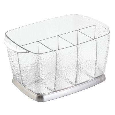 Rain Flatware Caddy in Clear