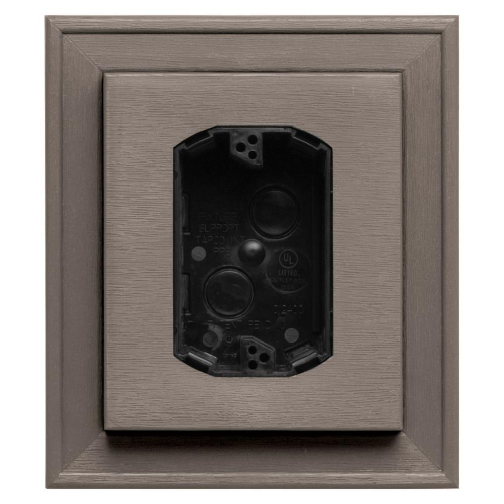 Gibraltar Building Products 7.25 In. X 8.25 In. Khaki