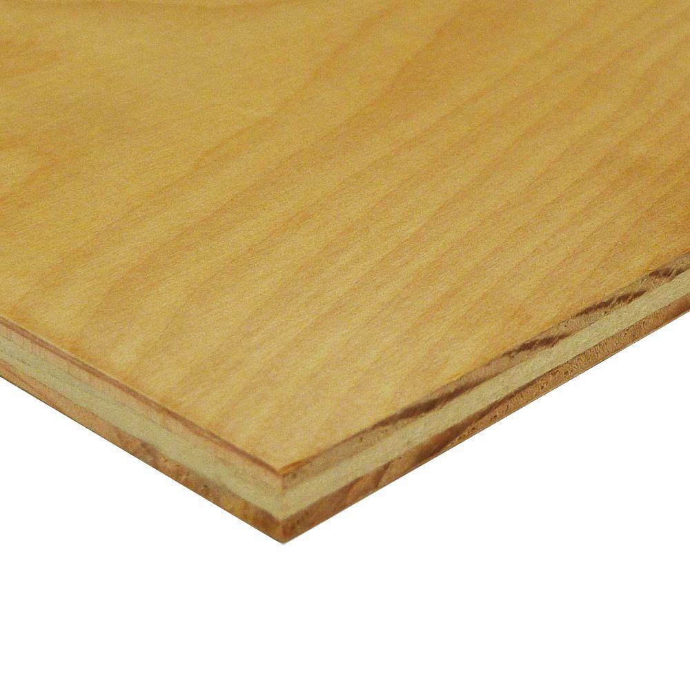 Swaner Hardwood 1/2 in. x 4 ft. x 8 ft. Birch Domestic Plywood