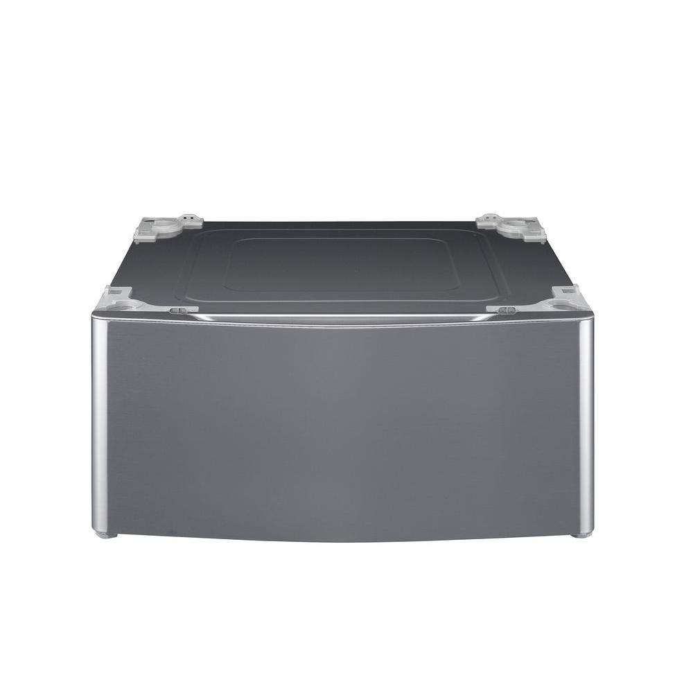 LG Electronics 29 in. Laundry Pedestal with Storage Drawer in Graphite Steel