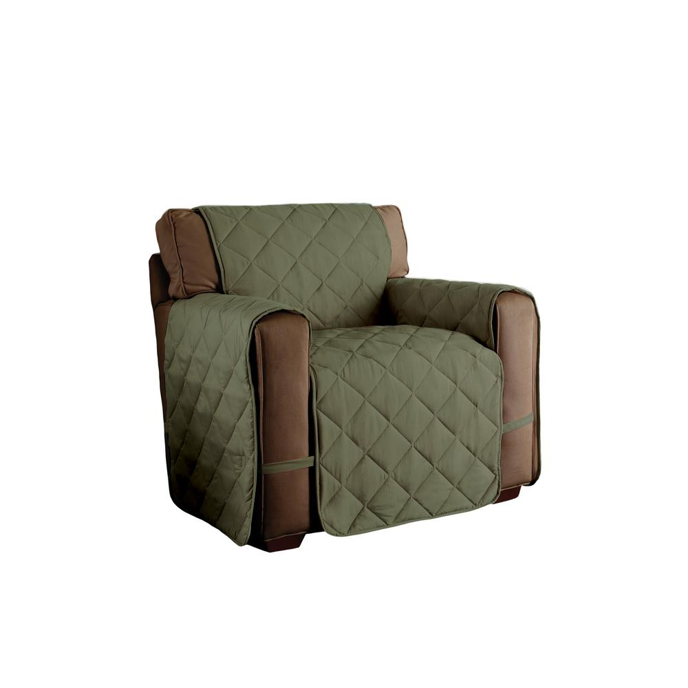 Superieur Innovative Textile Solutions Sage Microfiber Ultimate Solid Chair Protector
