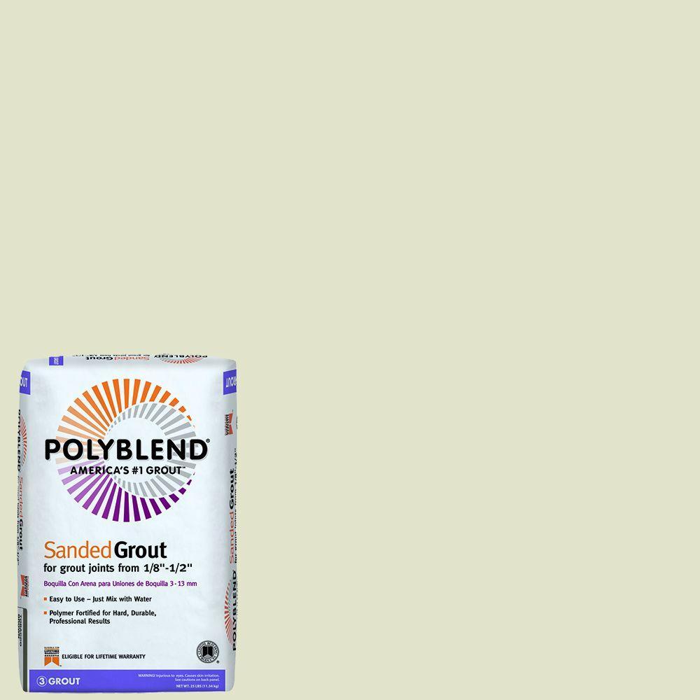 Polyblend #333 Alabaster 25 lb. Sanded Grout