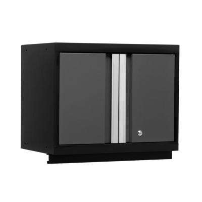 Bold 3 Series 19-1/2 in. H x 24 in. W x 12 in. D 24-Gauge Welded Steel Wall Cabinet in Gray