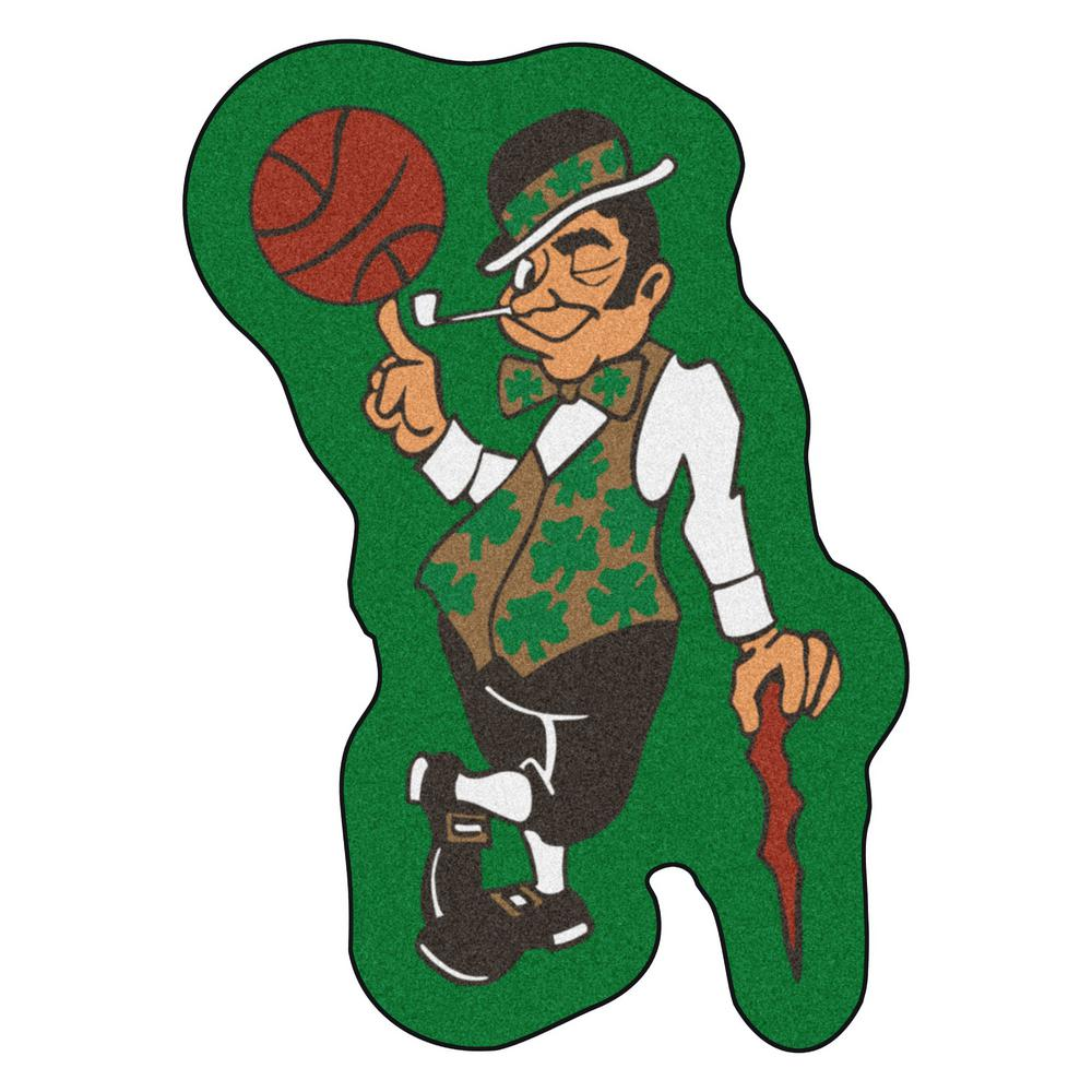 Fanmats Nba Boston Celtics Mascot Mat 25 8 In X 36 In