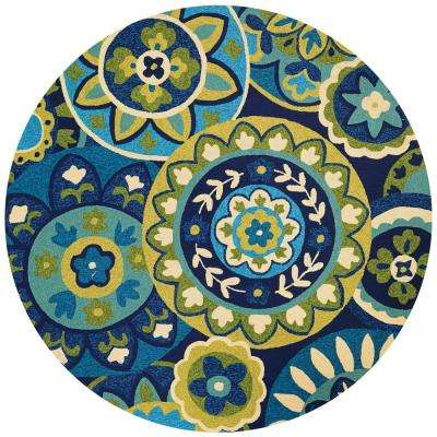 8 Round Outdoor Rugs Rugs The Home Depot