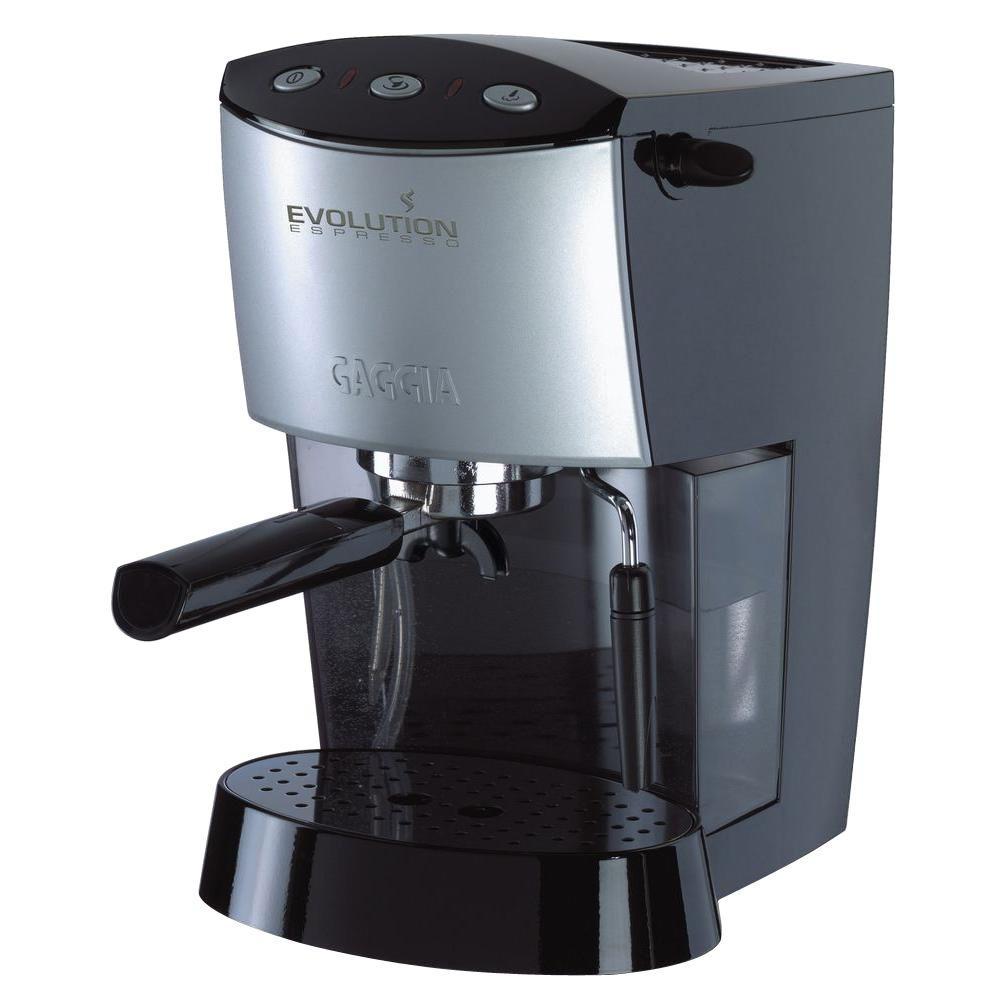 Gaggia 1425 Watts - 110/120 Volts Semi Automatic Espresso and Cappuccino Machine in Black