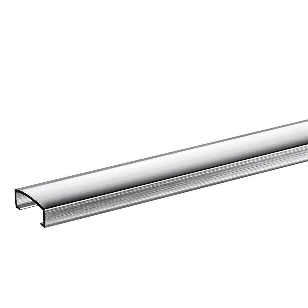 Homelux 3/4 in  x 6 ft  Metal Tile Strip