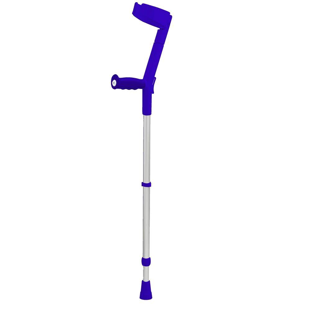 null Nearly-Closed Hinged Cuff Forearm Crutch