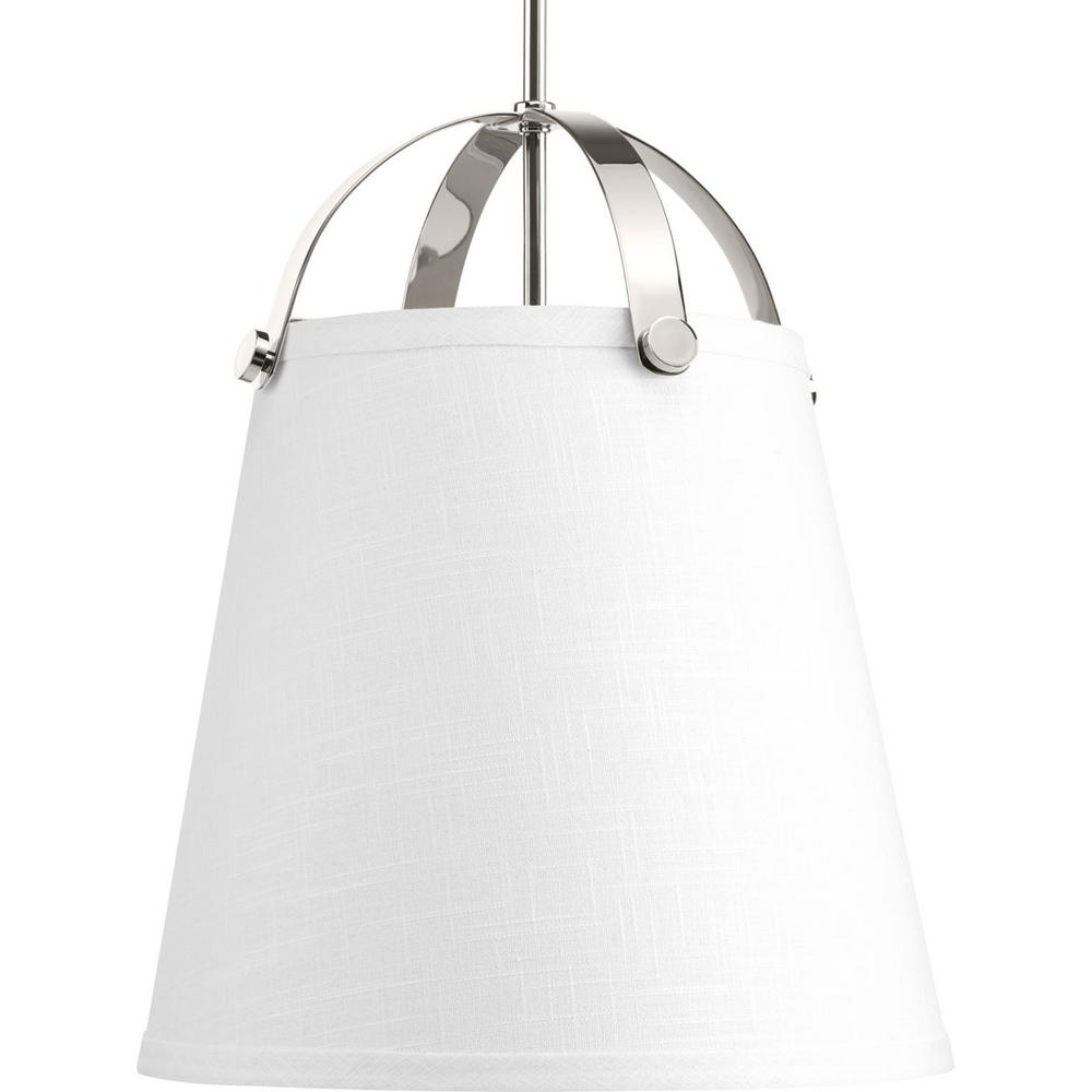 Galley Collection 2-Light Polished Nickel Pendant