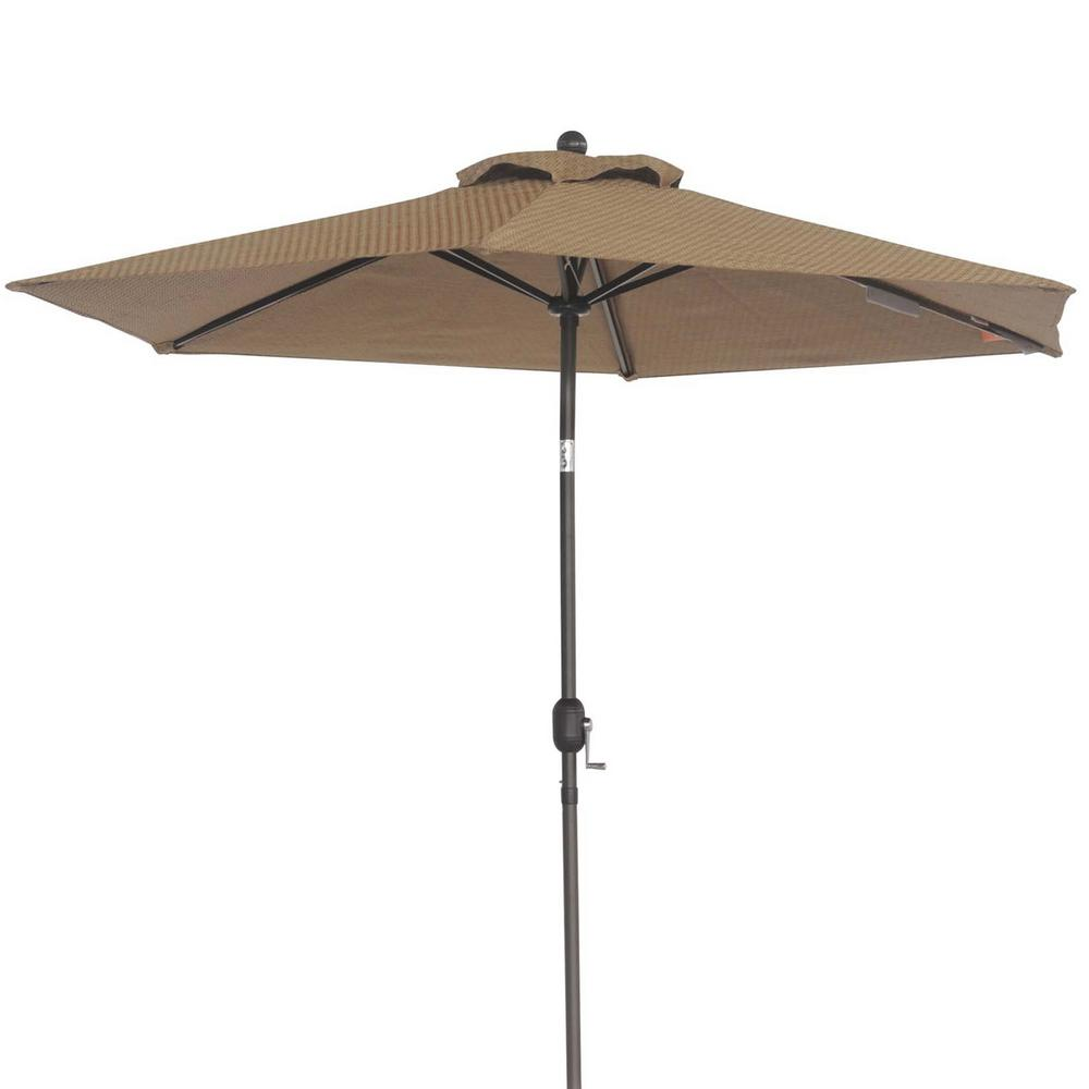 Market Patio Umbrella In Dark Brown