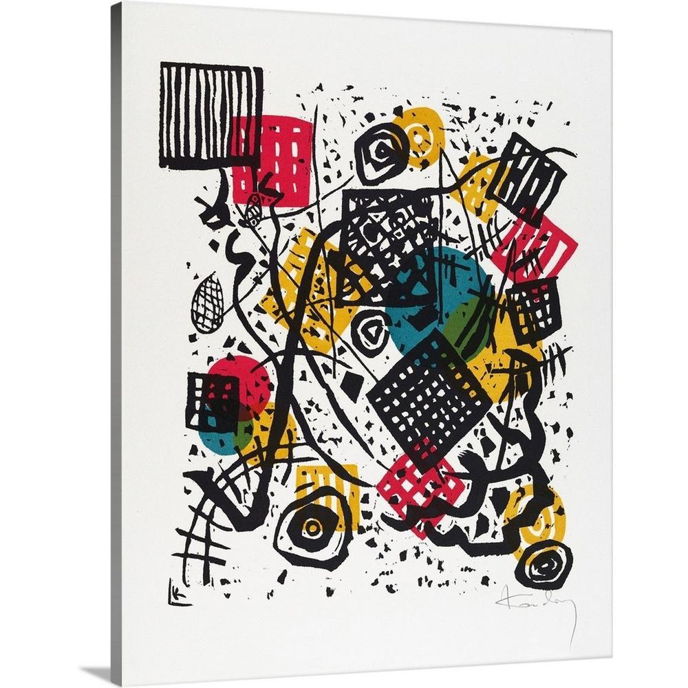 Greatbigcanvas Kleine Welten V Small Worlds V By Wassily Kandinsky Canvas Wall Art 2477675 24 24x30 The Home Depot