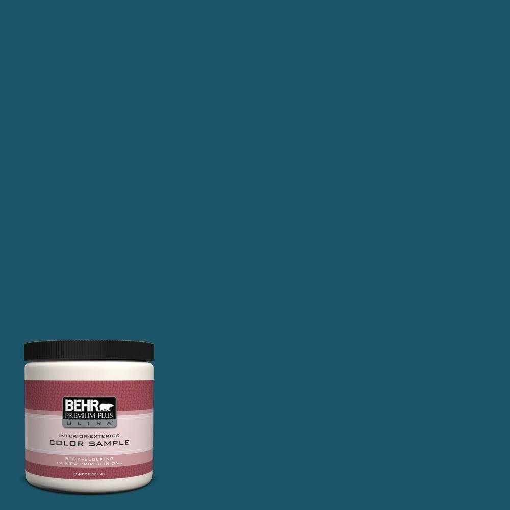 Ecc 13 3 Flowing River Matte Interior Exterior Paint And Primer In One Sample