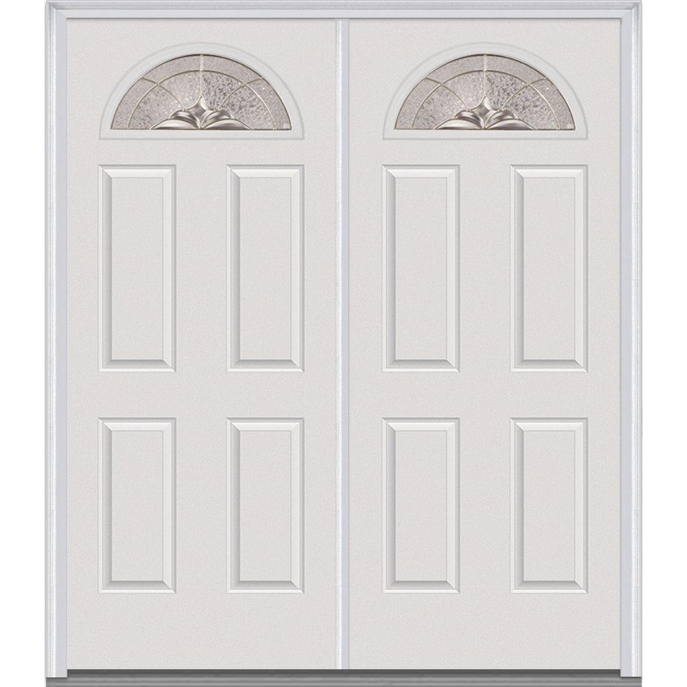 home depot white doors. 60  White Double Door Front Doors Exterior The Home Depot