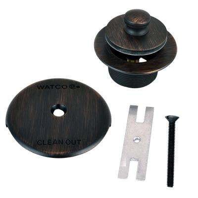 1.865 in. Overall Diameter x 11.5 Threads x 1.25 in. Push Pull Trim Kit, Oil-Rubbed Bronze