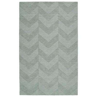 Imprints Modern Spa 3 ft. 6 in. x 5 ft. 6 in. Area Rug