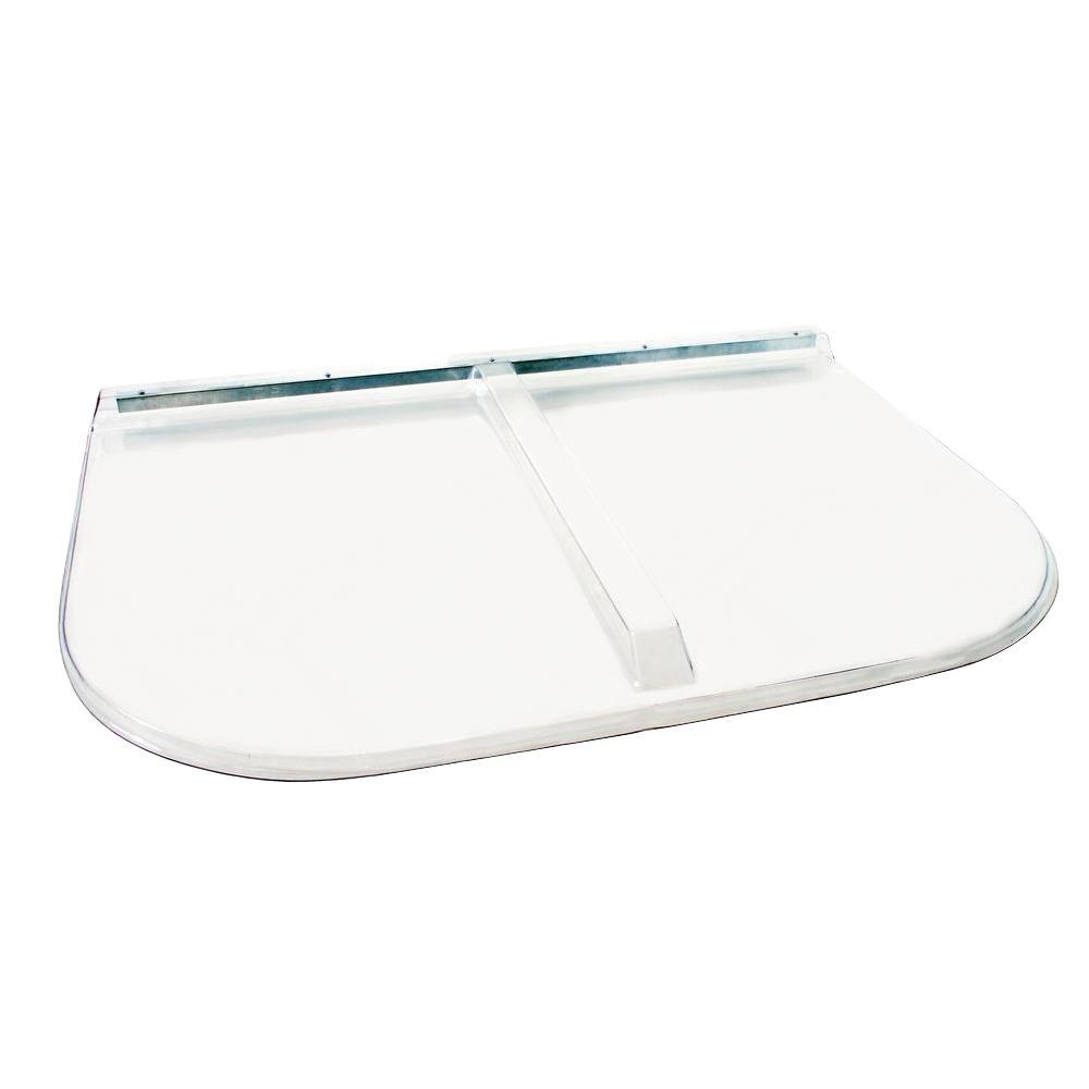53 in. x 38 in. Polycarbonate U-Shape Egress Cover