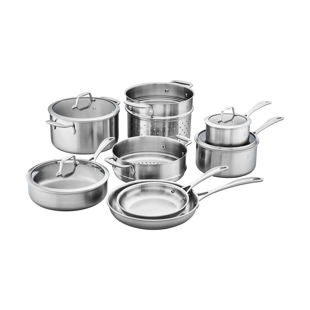 Zwilling Ja Henckels Zwilling Spirit 7 Piece 3 Ply Stainless Steel