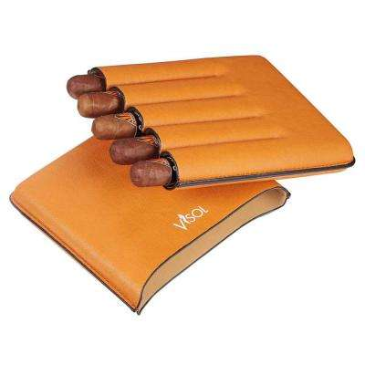Dakota Tan 60 Ring Gauge Cigar Case