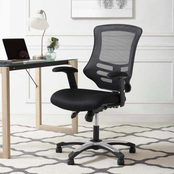 MODWAY Calibrate Mesh Office Chair in Black EEI-3042-BLK