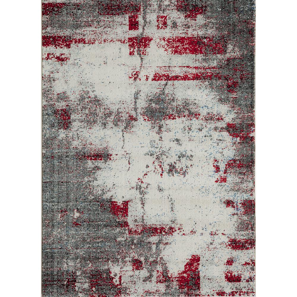 Loft Gray 5 ft. x 8 ft. Indoor Area Rug